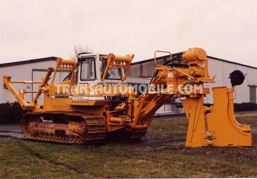 Import / export Liebherr Liebherr PR 732 BM  Diesel  ENSEMBLE DE POSE DE CABLE SOC VIBRANT TYPE KV 15   - Afrique Achat