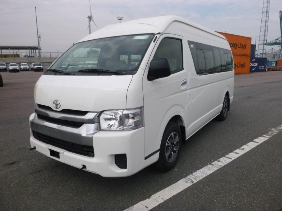 Export TOYOTA Hiace Minibus HIGH ROOF / TOIT HAUT 2.5L D4D HIGH ROOF  LONG WHEELBASE ABS-AB LUXURY