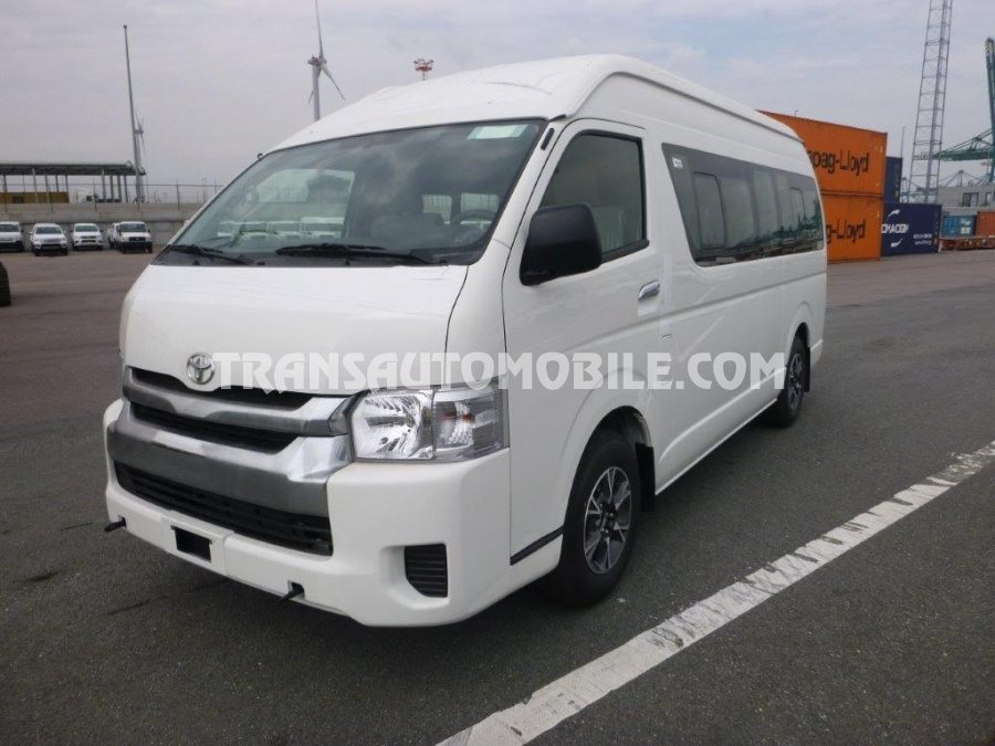 Import / export Toyota Toyota Hiace HIGH ROOF / TOIT HAUT Turbo Diesel LUXURY  15 SEATS   (2018) - Afrique Achat