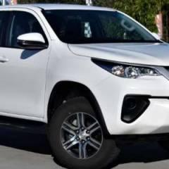 Toyota Fortuner Export