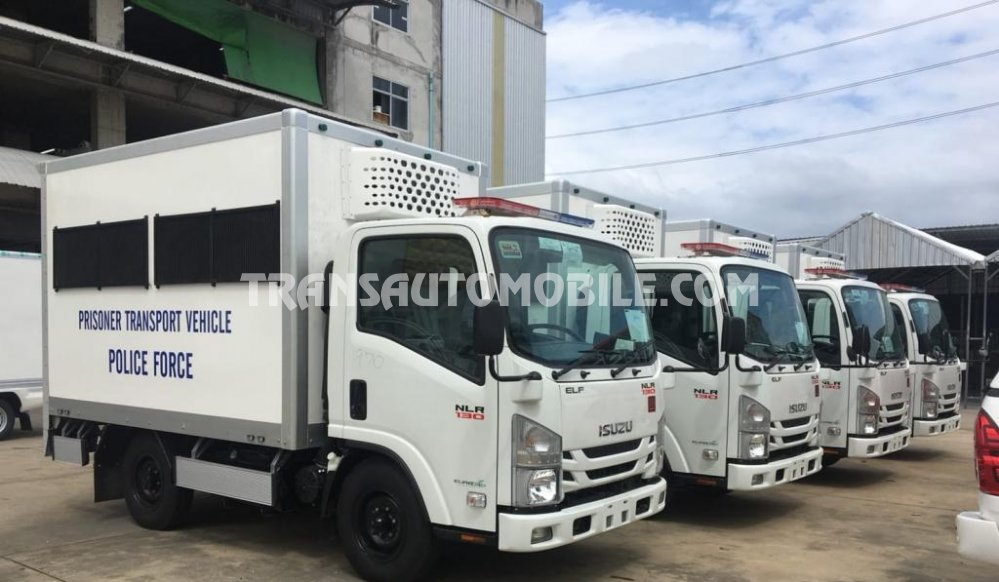 Isuzu NLR  Gasóleo  Prisoner transport Prisoner Transport  (2019) RHD