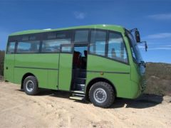 Unvi 30 to 35 seats Cimo 2 4x4 Chassis IVECO, MAN or Mercedes