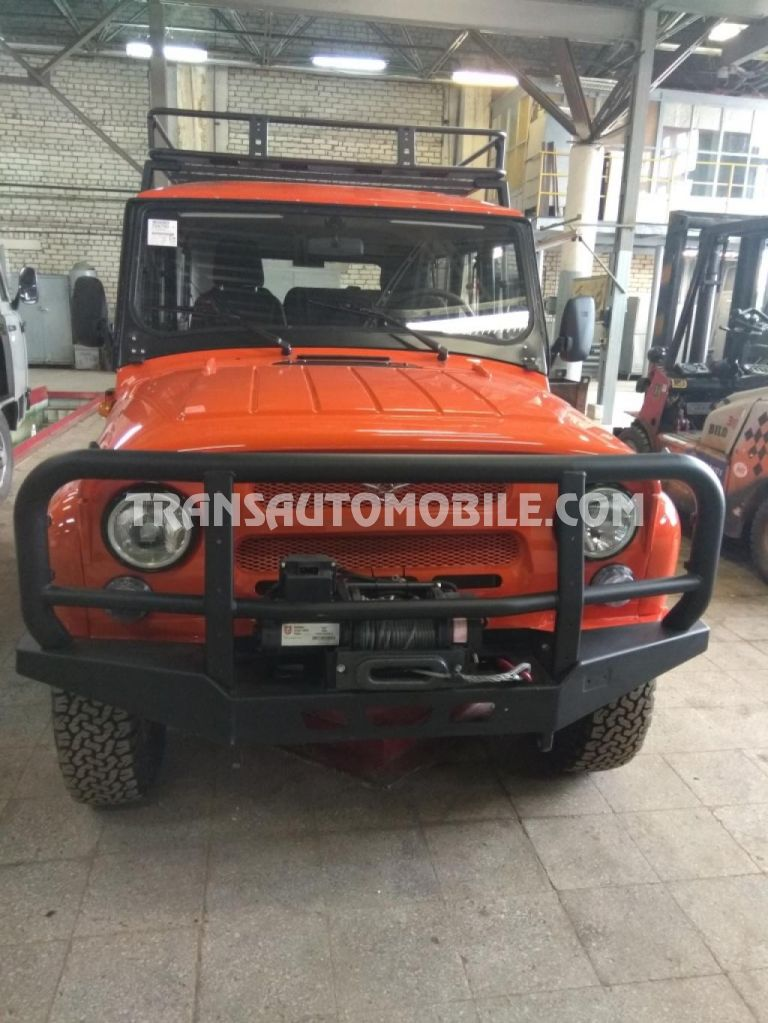 Uaz Hunter Expedition Benzine