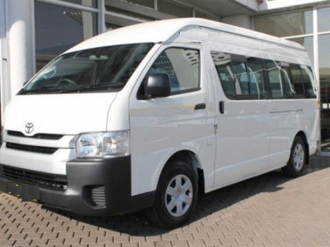 Toyota Hiace HIGH ROOF / TOIT HAUT Turbo Diesel  - RHD