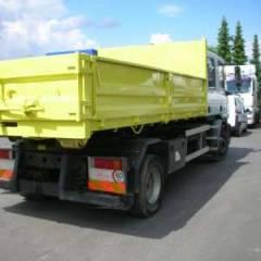 Iveco Eurocargo ML130E18D Diesel  1 plateau grue + 1 plateau