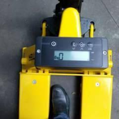 Hyster 2100  Gasóleo  2200 kg - système de pesée - weigh scale