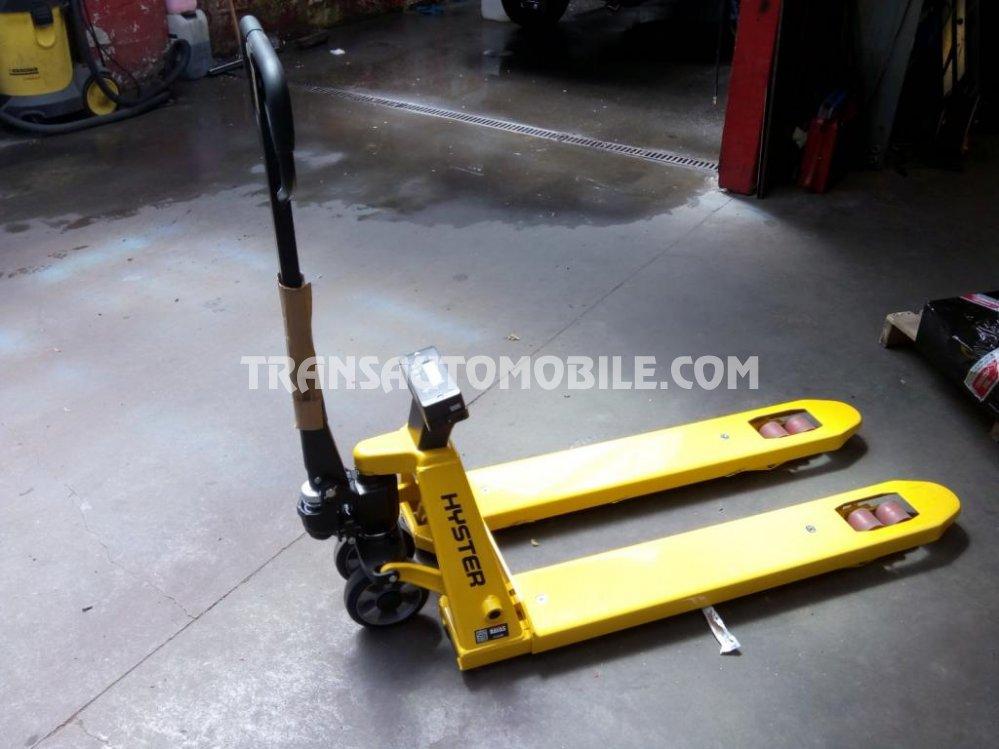 Hyster 2100  Diesel  2200 kg - système de pesée - weigh scale