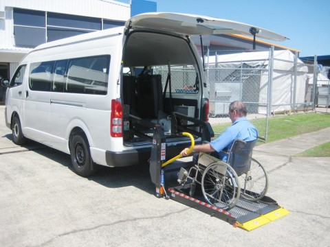Disabled / wheel chair