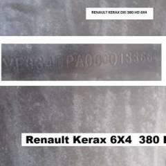 Renault Kerax 380dXi  Gasóleo   RHD
