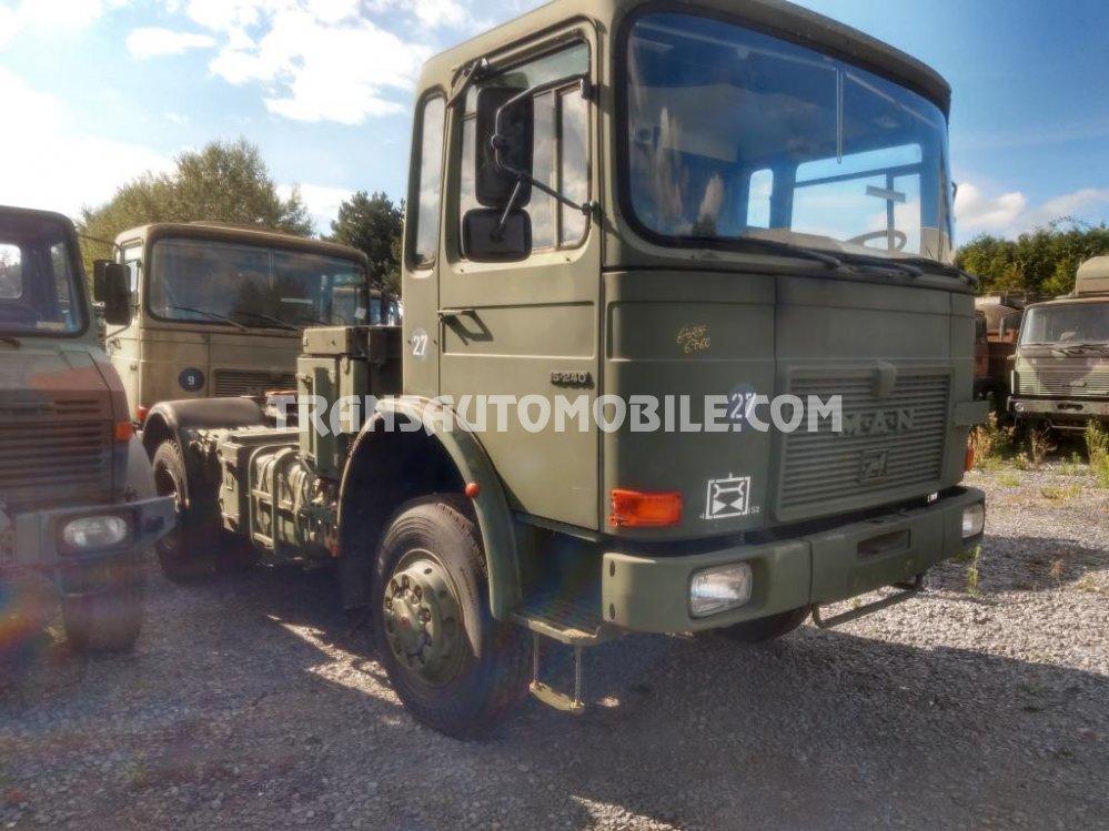 Man 15.240  Diesel  ex army 4x4