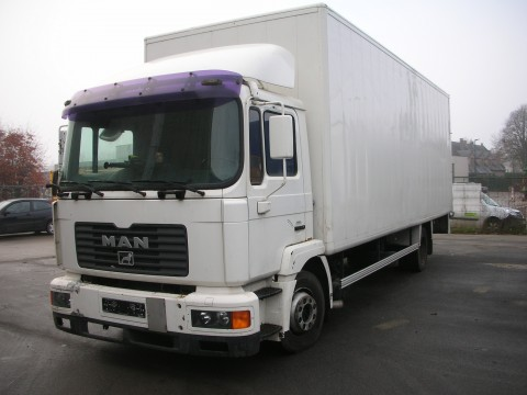 Export Fourgons Man M32, Occasion