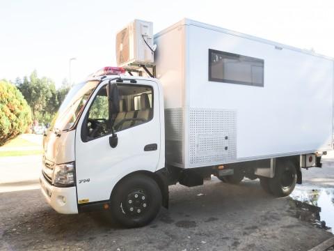 Ambulancia Hino - Toyota