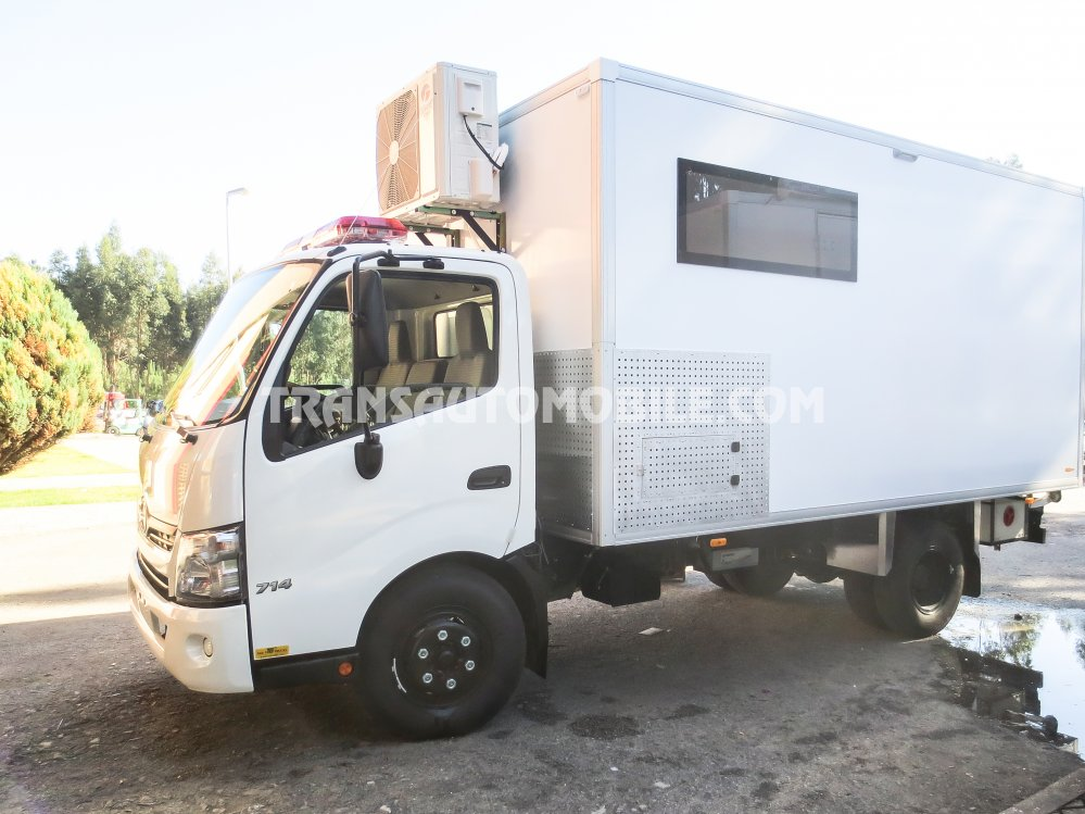 Hino - Toyota 300 714 SC Turbo Diesel  Ambulância MOBILE CARE UNIT   (2019)