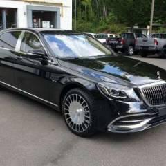 Exportação Mercedes Maybach S650