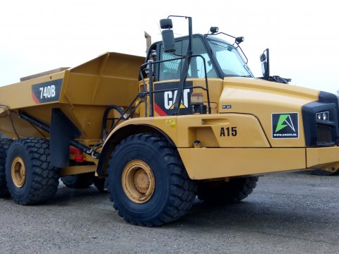 Caterpillar 740 Export