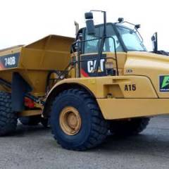 Export Caterpillar 740