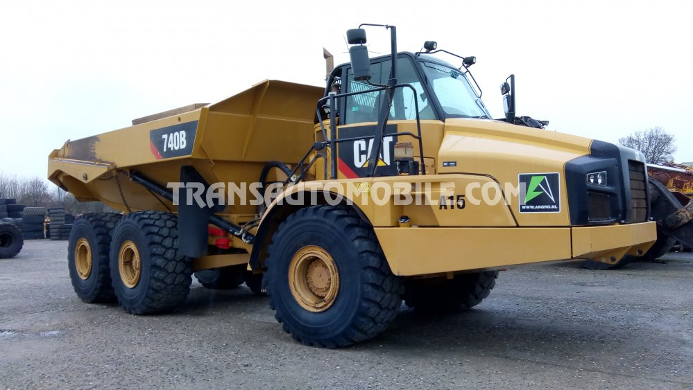 Import / export Caterpillar 740 DIESEL AUTOMATIQUE