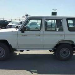 Import / export Toyota Land Cruiser 76 Station Wagon Diesel  Hzj 76. Afrique achat