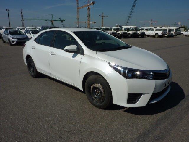 Export TOYOTA Corolla Sedan  1.6L XLI  Petrol