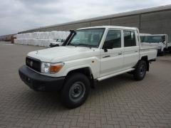 Export Double cabine Toyota Land Cruiser, Brand new