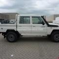 Import / export Toyota Land Cruiser 79 Pick up 4.2L   HZJ 79 Double cabin ABS-AB