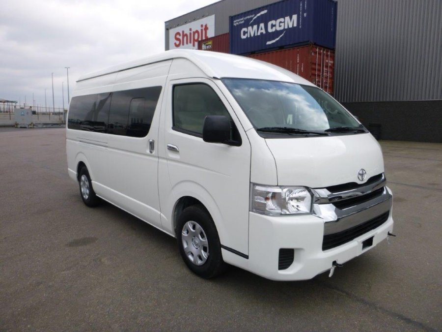 Export TOYOTA Hiace Mini-autocarro HIGH ROOF / TOIT HAUT