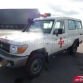 Exportación Toyota Land Cruiser 78 Metal top HZJ 78