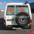 Import / export Toyota Land Cruiser 78 Metal top 4.2L   HZJ 78 Ambulance