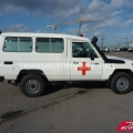 Toyota Land Cruiser 78 Metal top Diesel HZJ 78 Ambulancia