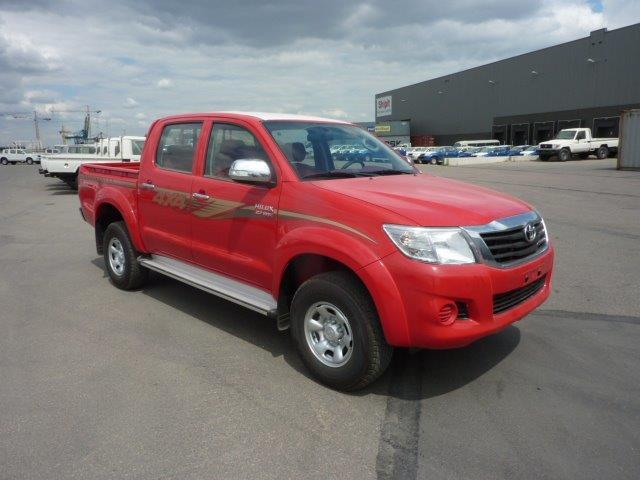 Export TOYOTA Hilux / Vigo Pick Up 4x4 Pick up Double cabine 2.7L PETROL/ESSENCE LUXE ABS/AB