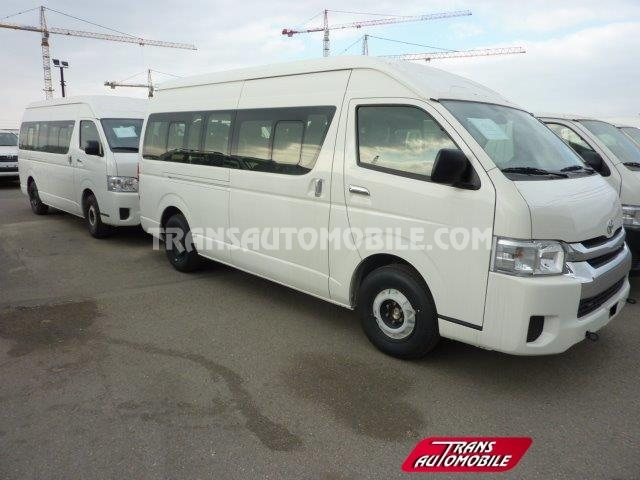 Import / export Toyota Hiace  2.5L D4D High roof long wheelbase